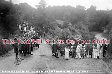 CO 133 - South Petherwin Procession, Cornwall c1911 - 6x4 Photo