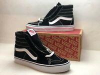 Vans Classic SK8 Hi Tops Black White Athletic Unisex Shoes VN000D5IB8C Size 8.5