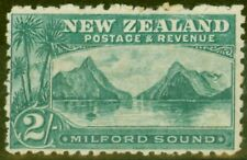 New Zealand 1899 2s Blue-Green SG269 Fine Mtd Mint