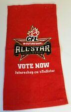 CANADIAN FOOTBALL LEAGUE FUTURE SHOP ELECTRONICS ALL STAR VOTE BAR FAN TOWEL