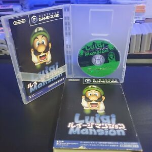 Luigi's Mansion Nintendo Gamecube Japan Complete Japan Version