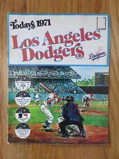 1971 LOS ANGELES DODGERS Team Stamp Album MAURI WILLS RICH ALLEN STEVE GARVEY