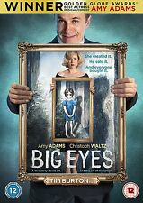 Big Eyes [DVD] [2014] Tim Burton Brand New Sealed