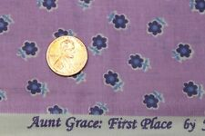 """AUNT GRACE """"FIRST PLACE"""" QUILT FABRIC CIRCA 1930's BY THE YARD MARCUS 4489-D335"""