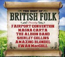 THE BEST OF BRITISH FOLK  - Various Artists  (NEW SEALED 2CD)