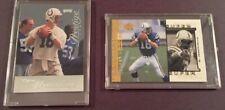 1998 Peyton Manning Upper Deck Super Powers & 1998 Playoff Prestige - PSA