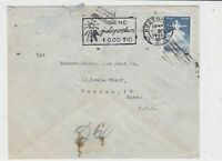 denmark 1962  stamps cover ref 19629