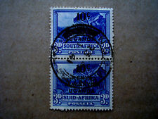 KUT 1941-42 EMERGENCY SURCHARGES of S.A.PICTORIALS 10c on 3d Ultramarine PAIR FU