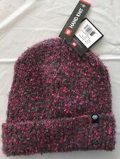 2020 NWT 686 Womens Hand Knit Beanie OS Azalea Snowboard m31a