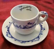 The John Ringling Hotel Sarasota Florida Demitasse Cup & Saucer by Mayer China