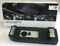 NEU !!!! Original BMW Snap-In Adapter Connect iPhone 7 84212451894