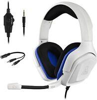Auriculares para PS4 Playstation 4 Cascos Microfono Gaming Videojuegos PC online