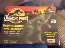 "Jurassic Park Hadrosaurus ""Corythosaurus"" 1992 Super Detailed Model! Sealed"