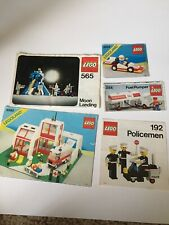 Lego Classic Moon Landing Hospital Manuals ONLY 6380 565 6503 554 192