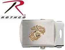 Web Belt Buckle Military G&A Marine USMC Globe & Anchor Emblem Rothco 4407