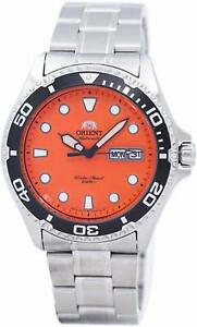 Orient Ray Raven II Automatic Orange Dial Mens Watch FAA02006M9 JAPAN INPORT NEW