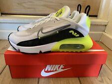 Nike Air Max 2090 White/Cool Grey-Volt-Black UK 7 EUR 41