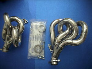AMG Mercedes W 124  300 CE-24 3,4L  New Stailees Steel Header Collektor Manifold