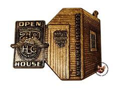 HARLEY DAVIDSON 100TH ANNIVERSARY OPEN HOUSE PIN  ** 20TH HOG ANNIVERSARY **
