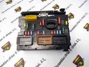 BCM Caja de fusibles Peugeot 1007 Citroen C3 9661707880 BSM-L03 00