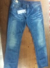 New Miss Sixty Collection Ladies Women's Denim Jeans 28W 32L Regular Slim Fit
