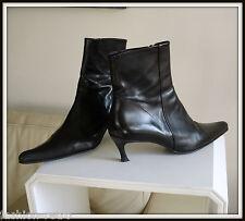 Bottes/bottines Free lance Cuir noir 40 boots vintage