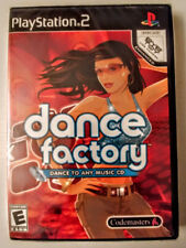 DANCE FACTORY DANCE TO ANY MUSIC CD  - PS2 - BRAND NEW & SEALED