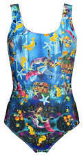 Mermaid Starfish Seahorse And Creatures Of The Sea Underwater Swimsuit Bodysuit