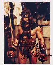 Arnold SCHWARZENEGGER (Film): Signed Photograph as Conan the Barbarian