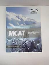 Kaplan MCAT General Chemistry Review Notes Test Prep and Admissions College