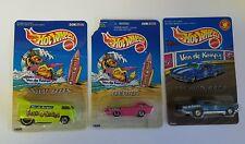Mattel Hotwheels Van de Kamps '67 Pontiac GTO, Deora and VW Bus Lot of 3 Diecast
