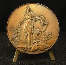 Médaille Paris Londres London uniface scéne à l'antique 57g 72mm  medal 勋章