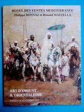 ART D'ORIENT & ORIENTALISME catalogue vente bijoux armes livres tapis peintures