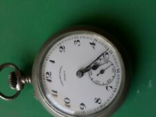 Moeris pocket watch tramway 1906-1929 very good working &condition swiss