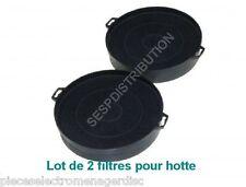 Filtres charbon Lot de 2 Ø 210 pour hotte de cuisine 70F18/FCB2  BSH  B210  KF62