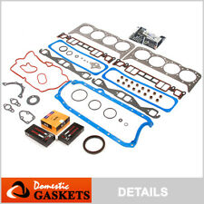 Fit 96-02 Chevrolet GMC Cadillac 5.7L Vortec OHV Full Gasket Bearing&Rings VIN R
