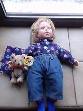 Babypuppe Kiddy Doll Neila ca. 43cm groß  Fa.Esprit Toys