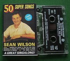Sean Wilson 50 Super Songs From Ireland No 10 Cassette Tape - TESTED