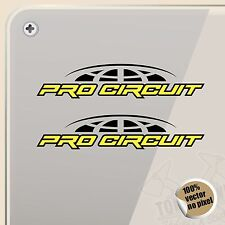 PEGATINA KIT PRO CIRCUIT RACING VINYL STICKER DECAL AUFKLEBER AUTOCOLLANT