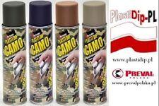 Plasti Dip/Plastisdip Aerozol Camo różne kolory.