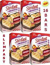 SlimFast Yoghurt Fruit Crunch Bars Meal Replacement Weight Loss Diet 16 x 60g