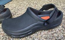 Men's Size 11 CROCS Bistro Pro LiteRide Clogs WORN ONCE