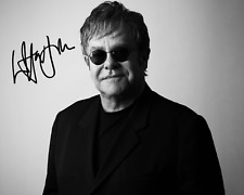 ELTON JOHN SIGNED AUTOGRAPHED REPRINT 8X10 COLOR PHOTO POSTER GLOSSY COLLECTIBLE