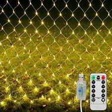 Net Mesh Lights Outdoor,200 Led 3m x 2m Led Fairy String Lights,Christmas Lights