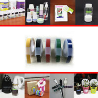 5Colors Label Maker Manual Embossing 6mmX3M Refill Tape Organizer For DYMO MOTEX