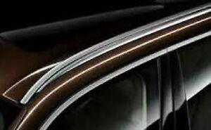 BMW OEM G06 F96 X6 2020+ Aluminum Roof Rail Pair in Silver Brand New