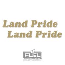 Land Pride Implement Premium Vinyl Decal 2 Pack Equipment Decal