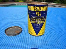 Vintage Pennsylvania Nylon Badminton Shuttlecocks 3 Penn Falcon General Tire