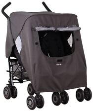Wtkoo-di Pack It doppio antipioggia per carrozzina/Passeggino/Passeggino da viaggio Nuovo Con Scatola