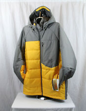 New 2014 Mens Burton AK VT Insulated Snowboard Jacket Large Blazed Monoxide